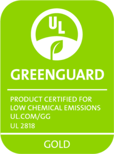 Babyletto Hudson crib is GREENGUARD Gold Certified.