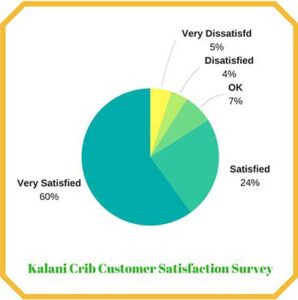 DaVinci Kalani Crib Customer Satisfaction Survery