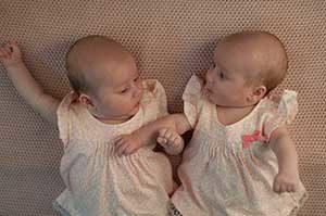 mini cribs for twins