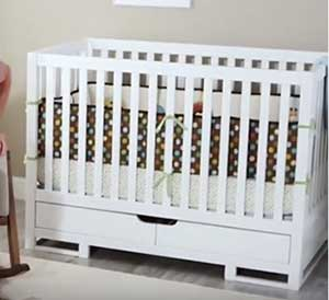 Babyletto Lolly Crib Reviews 2020: A Convertible Crib With Free Toddler Rail