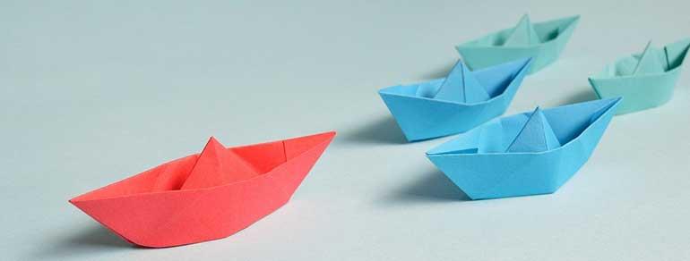 free indoor activities for kids - origami